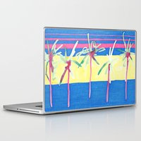 palms Laptop & iPad Skins featuring Palms  by Kelsey Witt