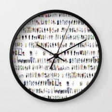 Major Queuing Wall Clock