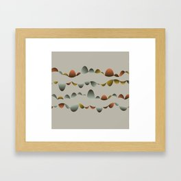 Bubble Music 1 Framed Art Print
