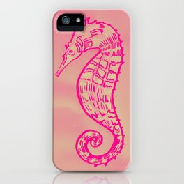 Pink art iPhone Case
