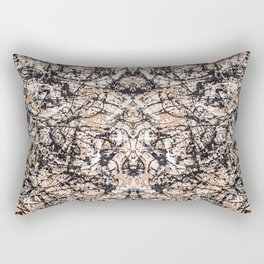 Reflecting Pollock Rectangular Pillow