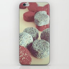 RETRO STYE CANDY PHOTOGRAPH II iPhone Skin