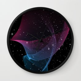 Interlaced Wall Clock