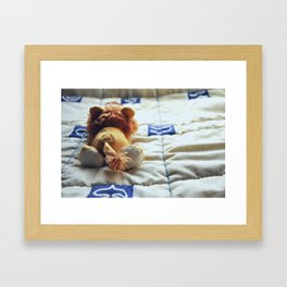 A Lonely One Framed Art Print