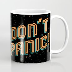 Don't Panic! Pixel Art Mug