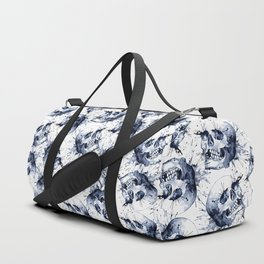 Skull Pattern Duffle Bag