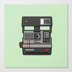 #43 Polaroid Camera Canvas Print