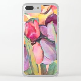 Spring Eternal Hope Clear iPhone Case