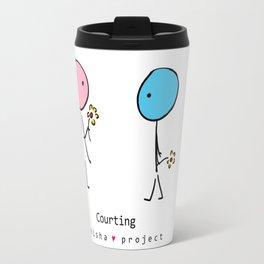 COURTING by ISHISHA PROJECT Travel Mug