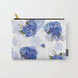 Cape Cod Hydrangea Nosegays Carry-All Pouch