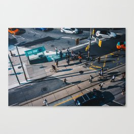 People Watching. Canvas Print