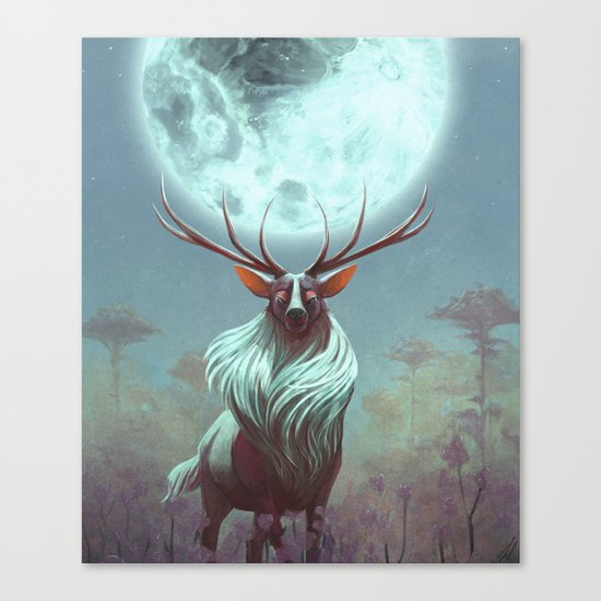 Night Prince Canvas Print
