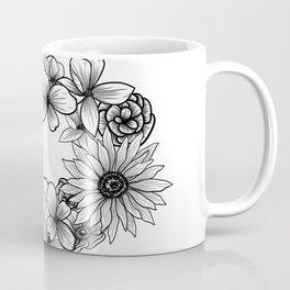 Floral Wreath Coffee Mug