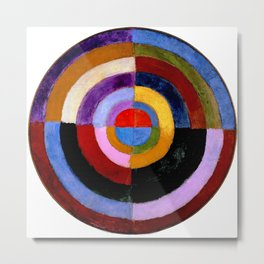 "Robert Delaunay ""Premier Disque"" Metal Print"