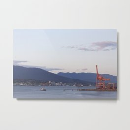 Sunset from Granville Plaza Metal Print