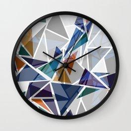 Cracked II Wall Clock