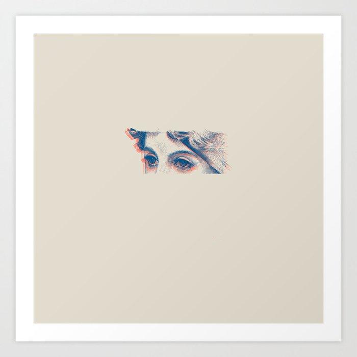 Stares to Nowhere Art Print