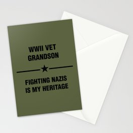 WWII Grandson Heritage Stationery Cards