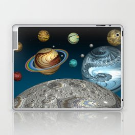 To The Moon And Beyond Laptop & iPad Skin