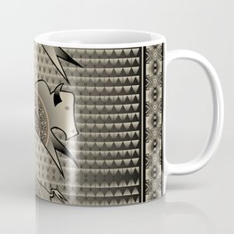 Buffalo Running (Gray) Coffee Mug