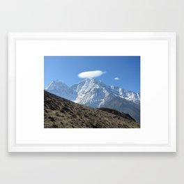 Mount Saint Halo Framed Art Print