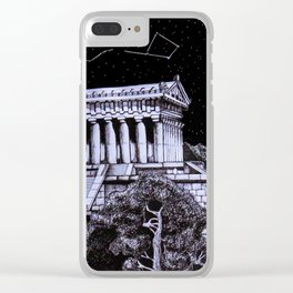 The Temple Clear iPhone Case