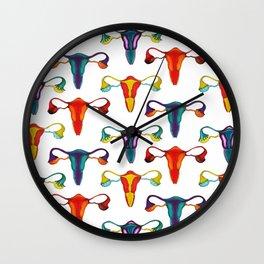 Colorful utereses Wall Clock