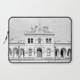 Clunes Town Hall Drawing Laptop Sleeve