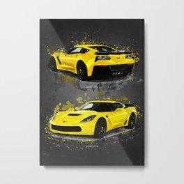 supercar Metal Print