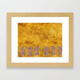 Celta Sol Framed Art Print