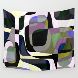 Mid Century Abstract 2 Wall Tapestry