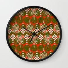 lotus diamond festive Wall Clock