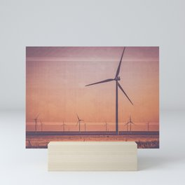 Southwest Windmills Route 66 Mini Art Print