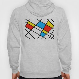 Related Colored Lines Hoody