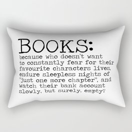 The Harsh Reality Rectangular Pillow