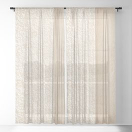 Architectural Photography Lines II Sheer Curtain