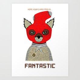 Fantastic Xmas Art Print