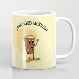 Java Good Morning - Coffee (Earth 1084) Coffee Mug