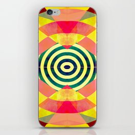 Funky shapes iPhone Skin