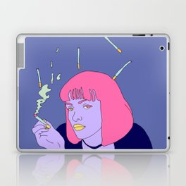 Chilling with a cig Laptop & iPad Skin