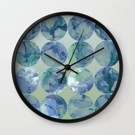 Blue Moons Wall Clock