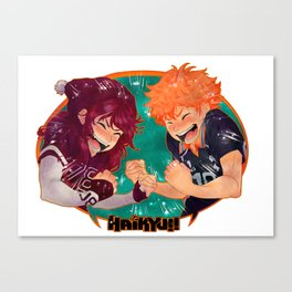 We Love Haikyuu!! Canvas Print