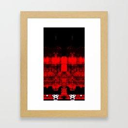 Hell Gamer Easy Framed Art Print