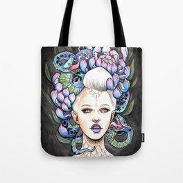 Snake Head Tote Bag