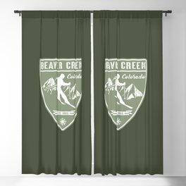 Beaver Creek Colorado Blackout Curtain