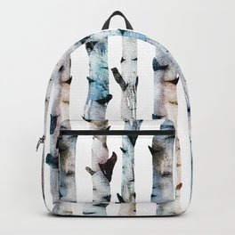 New Birch Trees Forest Backpack