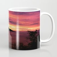 big sur Mugs featuring Sunset * Big Sur, California by John Lyman Photos
