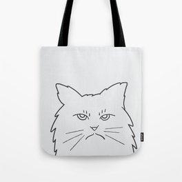 Angry Kitty Tote Bag