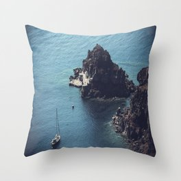 Santorini, Greece 25 Throw Pillow