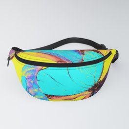 Shiny and colorful butterflies #decor #buyart #society6 Fanny Pack